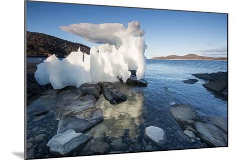 Melting Iceberg, Repulse Bay, Nunavut Territory, Canada-Paul Souders-Mounted Photographic Print