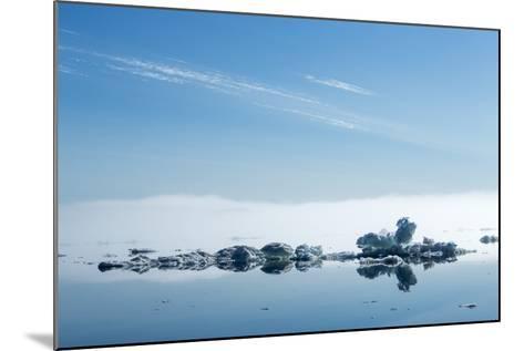 Melting Sea Ice, Hudson Bay, Nunavut Territory, Canada-Paul Souders-Mounted Photographic Print