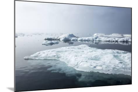 Melting Sea Ice, Repulse Bay, Nunavut Territory, Canada-Paul Souders-Mounted Photographic Print