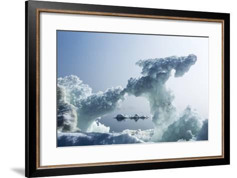 Sea Ice, Nunavut Territory, Canada-Paul Souders-Framed Art Print