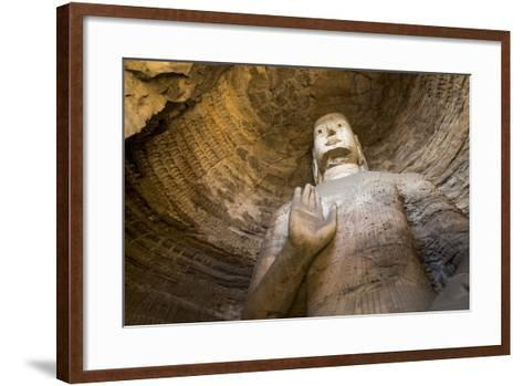 Buddha Caves, Datong, Shanxi Province, China-Paul Souders-Framed Art Print
