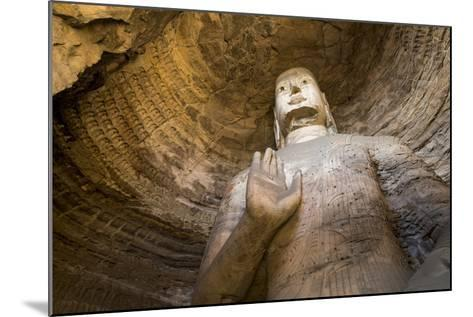 Buddha Caves, Datong, Shanxi Province, China-Paul Souders-Mounted Photographic Print