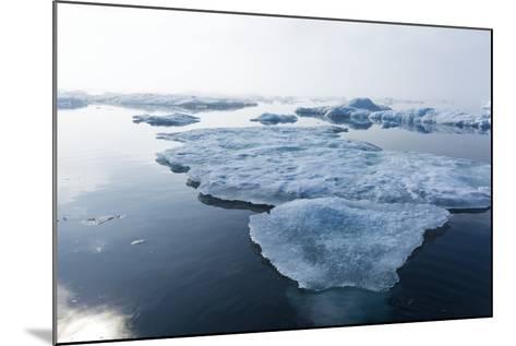 Melting Sea Ice, Repulse Bay, Nunavut Territory, Canada-Paul Souders-Mounted Photographic Print
