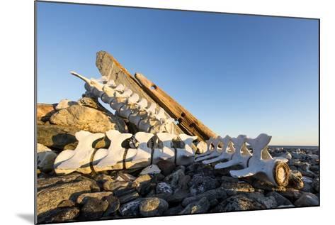 Whalers' Graves, Deadman Island, Nunavut, Canada-Paul Souders-Mounted Photographic Print