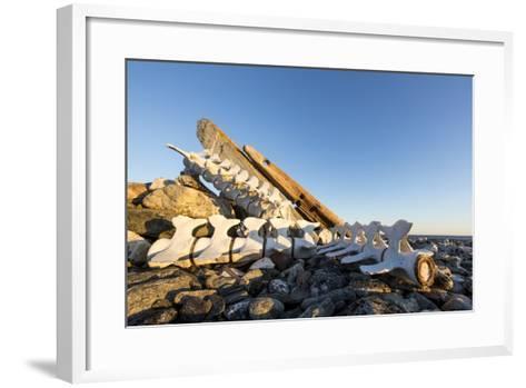 Whalers' Graves, Deadman Island, Nunavut, Canada-Paul Souders-Framed Art Print