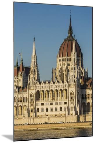 Pest, the Hungarian Parliament Building-Massimo Borchi-Mounted Photographic Print