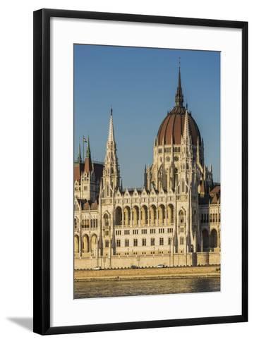 Pest, the Hungarian Parliament Building-Massimo Borchi-Framed Art Print