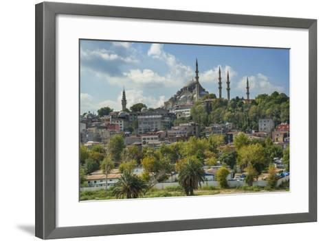 Suleymaniye Cami, Suleyman Mosque-Guido Cozzi-Framed Art Print