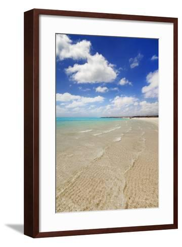 Tropical Lagoon Sandy Bay-Frank Krahmer-Framed Art Print