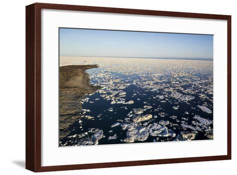 Sea Ice, Hudson Bay, Nunavut, Canada-Paul Souders-Framed Art Print