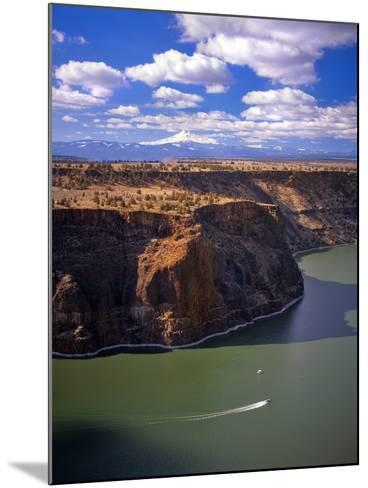 Boaters on Lake Billy Chinook-Steve Terrill-Mounted Photographic Print
