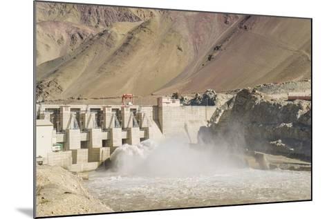 Alchi, the Dam along Indus River-Guido Cozzi-Mounted Photographic Print