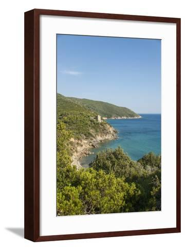 Le Cannelle Beach-Guido Cozzi-Framed Art Print