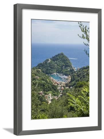View of Portofino-Guido Cozzi-Framed Art Print