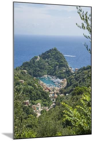 View of Portofino-Guido Cozzi-Mounted Photographic Print