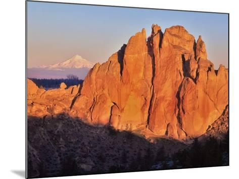 Smith Rock, Oregon-Steve Terrill-Mounted Photographic Print