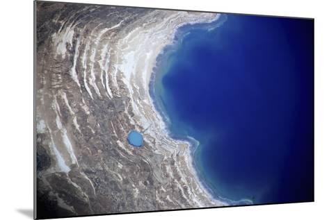 Dead Sea from Above.-Stefano Amantini-Mounted Photographic Print