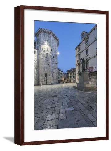 Split Old Town at Dawn-Rob Tilley-Framed Art Print
