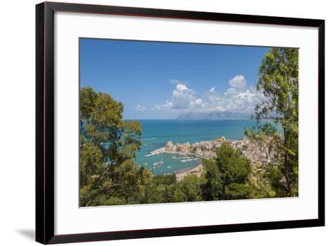 View of Castellammare Del Golfo-Guido Cozzi-Framed Art Print