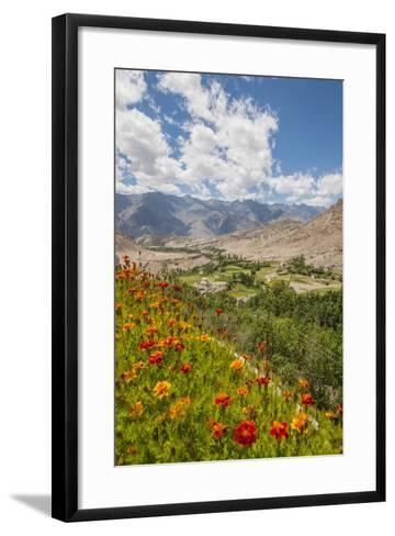 View from Likir Monastery-Guido Cozzi-Framed Art Print