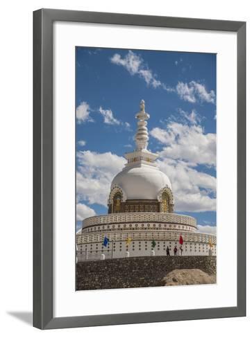Shanti Stupa-Guido Cozzi-Framed Art Print