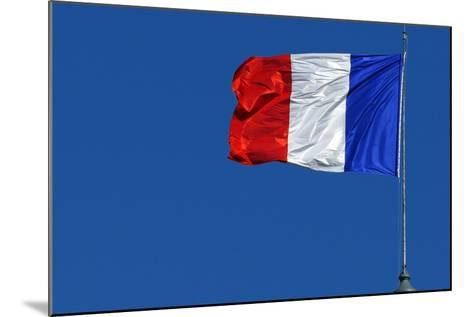 French Flag-Hans Peter Merten-Mounted Photographic Print