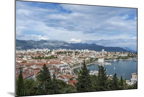 Split Harbor and Old Town-Rob Tilley-Mounted Photographic Print