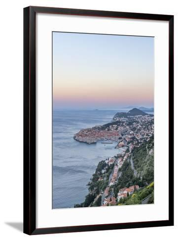 Dubrovnik Dawn-Rob Tilley-Framed Art Print