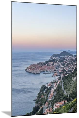 Dubrovnik Dawn-Rob Tilley-Mounted Photographic Print
