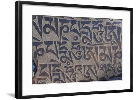 Monastery near Thag Thok, Chemde Valley-Guido Cozzi-Framed Art Print