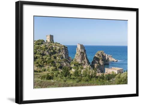 Tonnara Di Scopello, Ancient Tuna Fish Working Plant-Guido Cozzi-Framed Art Print