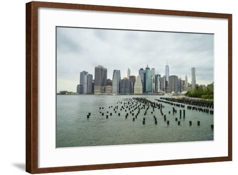 Lower Manhattan Skyline, New York City-Fraser Hall-Framed Art Print