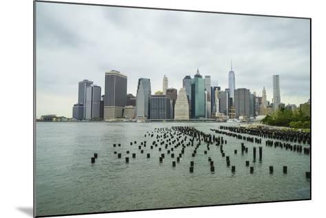 Lower Manhattan Skyline, New York City-Fraser Hall-Mounted Photographic Print