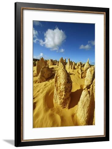 Erosion Landscape Pinnacles-Frank Krahmer-Framed Art Print