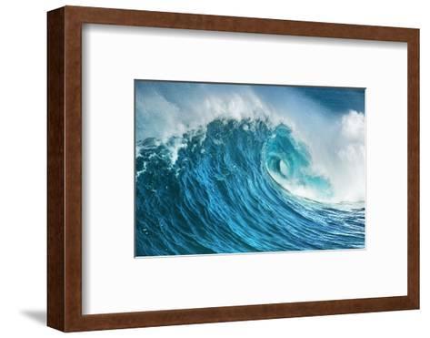 Wave Impression-Frank Krahmer-Framed Art Print