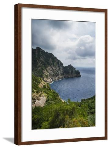 The Trail from San Rocco to San Fruttuoso-Guido Cozzi-Framed Art Print