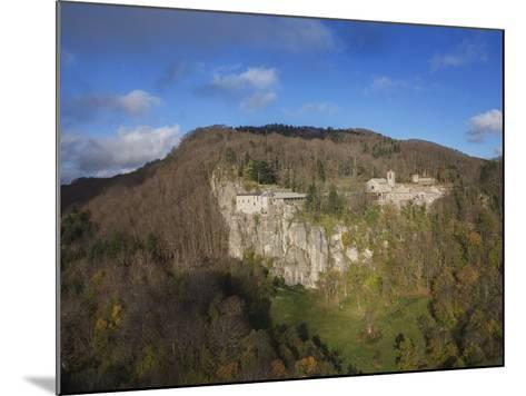 Air View of La Verna Hermitage-Guido Cozzi-Mounted Photographic Print