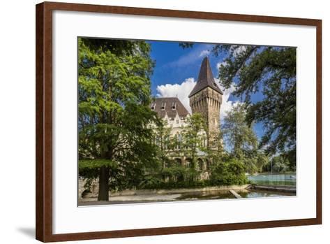 Pest, Varosliget (City Park), the Vajdahunyad Castle-Massimo Borchi-Framed Art Print
