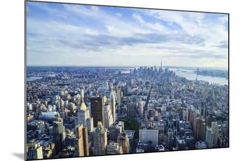 Manhattan Skyline from Above, New York City-Fraser Hall-Mounted Photographic Print