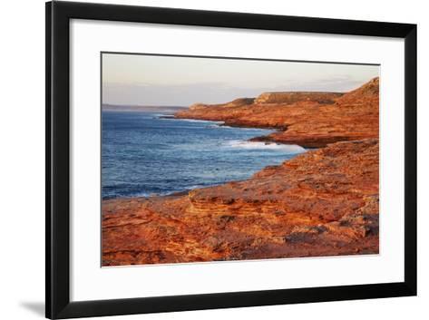 Cliff Landscape at Eagle Gorge-Frank Krahmer-Framed Art Print