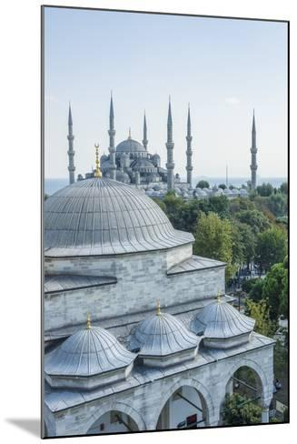 Firuz Aga Mosque and Sultan Ahamet Camii (Blue Mosque)-Guido Cozzi-Mounted Photographic Print