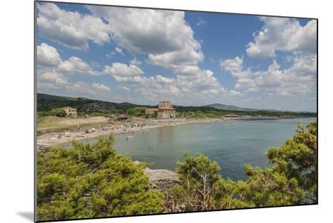 The Beach near 'Tagliata Etrusca', Ansedonia-Guido Cozzi-Mounted Photographic Print