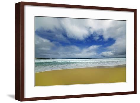 Beach Impression at Injidup-Frank Krahmer-Framed Art Print