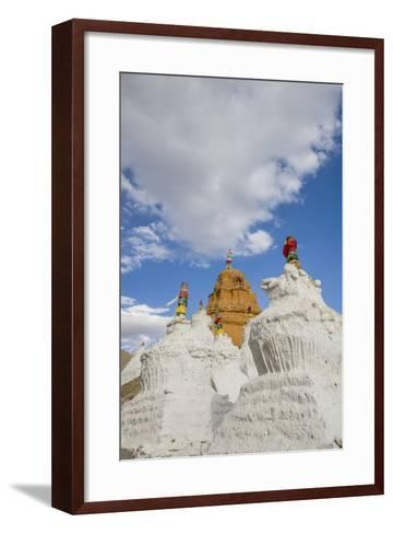 Beautiful Stupa in Downtown-Guido Cozzi-Framed Art Print