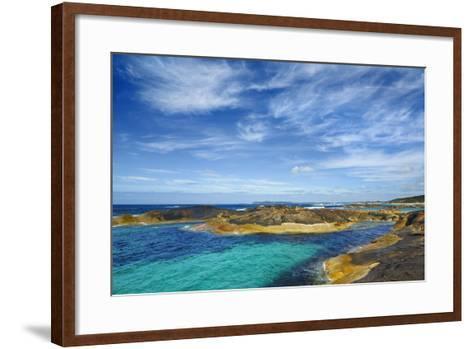 Ocean Coast near Greens Pool-Frank Krahmer-Framed Art Print