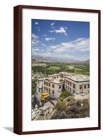 Spituk Monastery, near Leh-Guido Cozzi-Framed Art Print