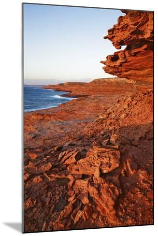 Cliff Landscape at Eagle Gorge-Frank Krahmer-Mounted Photographic Print