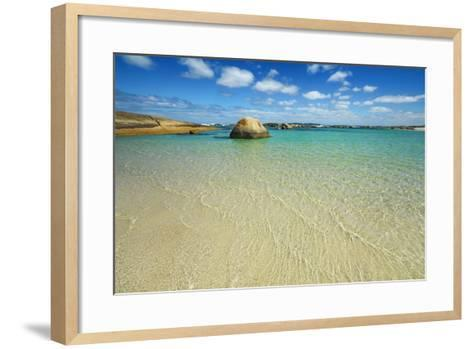 Ocean Coast at Greens Pool-Frank Krahmer-Framed Art Print