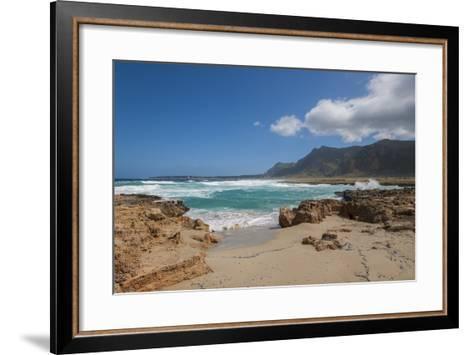 Landscape near Macari-Guido Cozzi-Framed Art Print