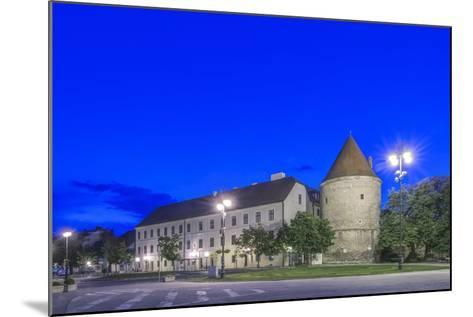 Zagreb Cathedral Fortification at Dawn-Rob Tilley-Mounted Photographic Print